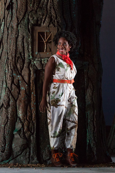 """Jasmine Habersham as Papagena in The Glimmerglass Festival's 2015 production of Mozart's """"The Magic Flute."""" Photo: Karli Cadel/The Glimmerglass Festival"""