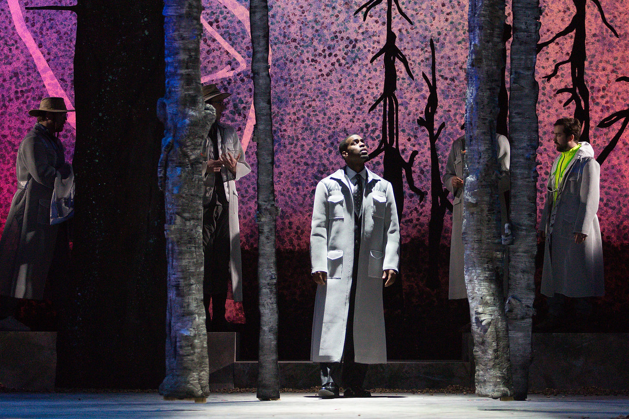 "Soloman Howard as Sarastro in The Glimmerglass Festival's 2015 production of Mozart's ""The Magic Flute."" Photo: Karli Cadel/The Glimmerglass Festival"