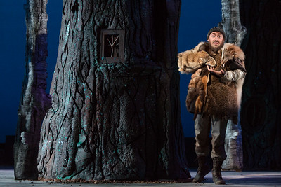 "Nicholas Nestorak as Monostatos in The Glimmerglass Festival's 2015 production of Mozart's ""The Magic Flute."" Photo: Karli Cadel/The Glimmerglass Festival"