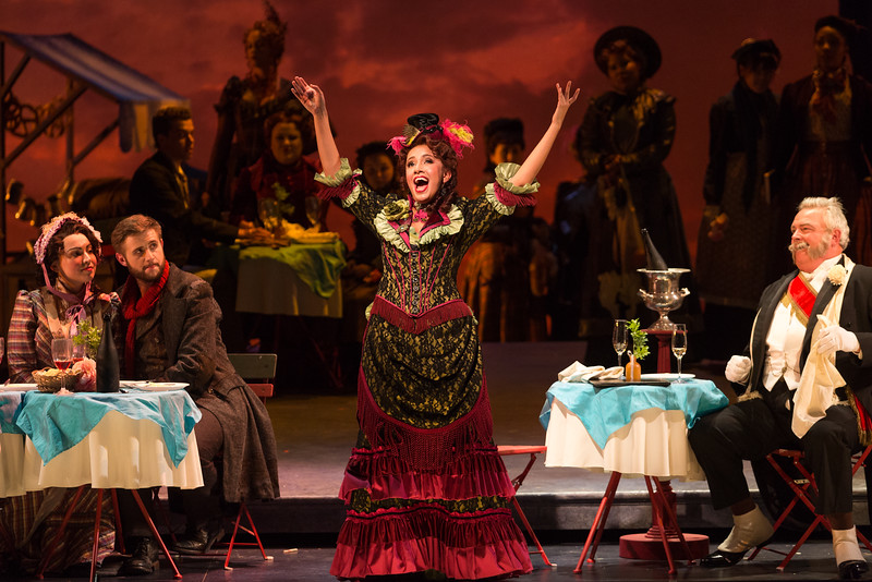 "Vanessa Becerra in The Glimmerglass Festival's production of Puccini's ""La bohème."" Photo: Karli Cadel/The Glimmerglass Festival"