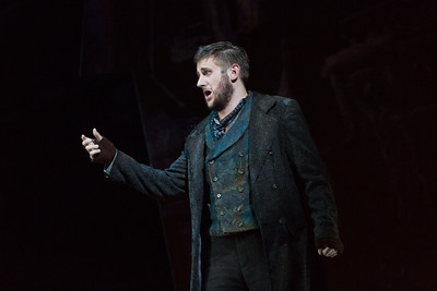 "Michael Brandenburg as Rodolfo in The Glimmerglass Festival production of Puccini's ""La bohème."" Photo: Karli Cadel/The Glimmerglass Festival"