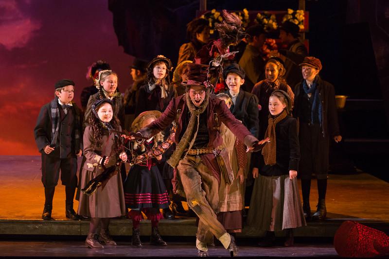 "David Walton as Parpignol in The Glimmerglass Festival production of Puccini's ""La bohème."" Photo: Karli Cadel/The Glimmerglass Festival"