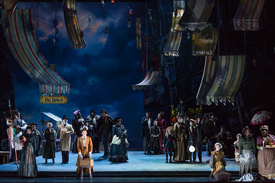 "The Glimmerglass Festival production of Puccini's ""La bohème."" Photo: Karli Cadel/The Glimmerglass Festival"