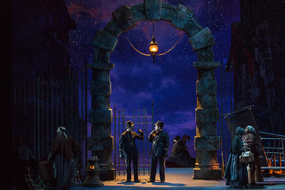 "The Glimmerglass Festival's production of Puccini's ""La bohème."" Photo: Karli Cadel/The Glimmerglass Festival"