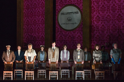 """Members of the ensemble in The Glimmerglass Festival's production of Stephen Sondheim's """"Sweeney Todd."""" Photo: Karli Cadel/The Glimmerglass Festival"""