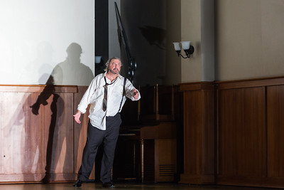 """Peter Volpe as Judge Turpin in The Glimmerglass Festival's production of Stephen Sondheim's """"Sweeney Todd."""" Photo: Karli Cadel/The Glimmerglass Festival"""