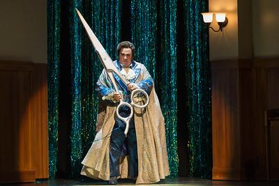 "Christopher Bozeka as Adolfo Pirelli in The Glimmerglass Festival's production of Stephen Sondheim's ""Sweeney Todd."" Photo: Karli Cadel/The Glimmerglass Festival"