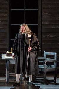 "Jay Hunter Morris as Judge Danforth  in The Glimmerglass Festival's production of Robert Ward's ""The Crucible."" Photo: Karli Cadel/The Glimmerglass Festival"