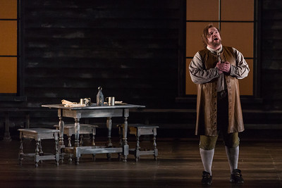 """Brian Mulligan as John Proctor in The Glimmerglass Festival's production of Robert Ward's """"The Crucible."""" Photo: Karli Cadel/The Glimmerglass Festival"""