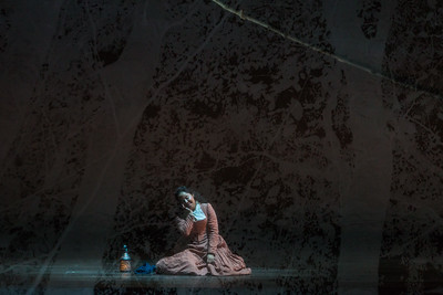 """Ariana Wehr as Abigail Williams  in The Glimmerglass Festival's production of Robert Ward's """"The Crucible."""" Photo: Karli Cadel/The Glimmerglass Festival"""