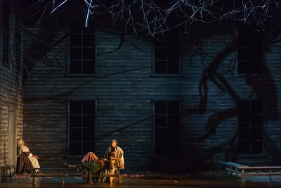 "Helena Brown as Rebecca Nurse, Meroë Khalia Adeeb as Sarah Good and Zoie Reams as Tituba in The Glimmerglass Festival's production of Robert Ward's ""The Crucible."" Photo: Karli Cadel/The Glimmerglass Festival"