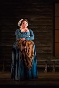 "Jamie Barton as Elizabeth Proctor  in The Glimmerglass Festival's production of Robert Ward's ""The Crucible."" Photo: Karli Cadel/The Glimmerglass Festival"