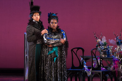 "Calvin Griffin as Fabrizio Vingradito and Leah Hawkins as Lucia in The Glimmerglass Festival's production of Rossini's ""The Thieving Magpie."" Photo: Karli Cadel/The Glimmerglass Festival"