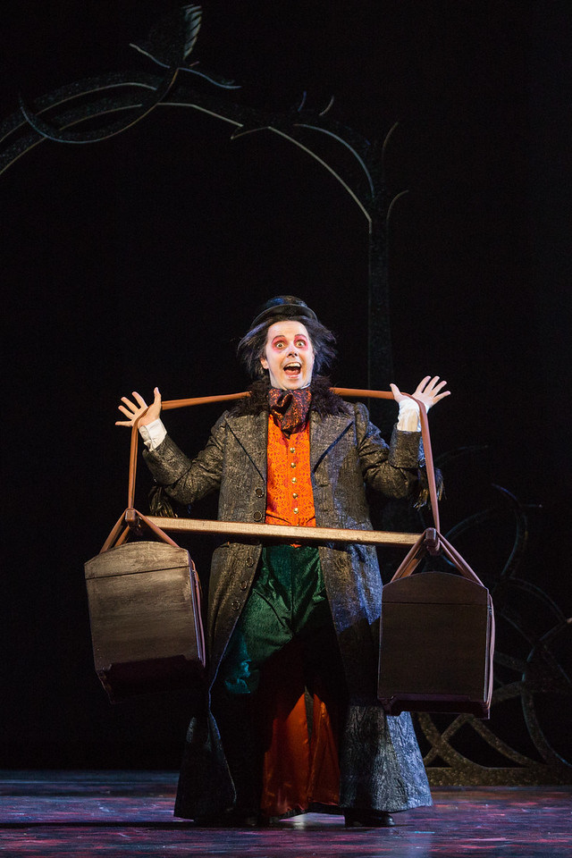 "Brad Raymond as Isacco in The Glimmerglass Festival's production of Rossini's ""The Thieving Magpie."" Photo: Karli Cadel/The Glimmerglass Festival"