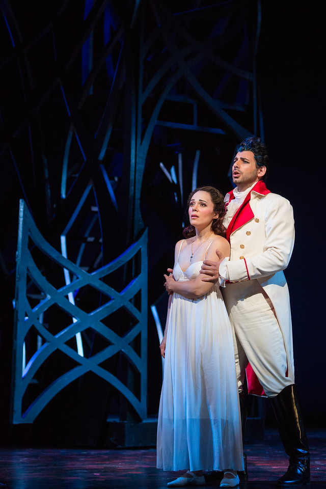 "Rachele Gilmore as Ninetta and Michele Angelini as Giannetto in The Glimmerglass Festival's production of ""The Thieving Magpie"""