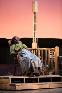 "Judith Skinner as Aunt Eller in The Glimmerglass Festival's 2017 production of Rodgers and Hammerstein's ""Oklahoma!"" Photo: Karli Cadel/The Glimmerglass Festival"
