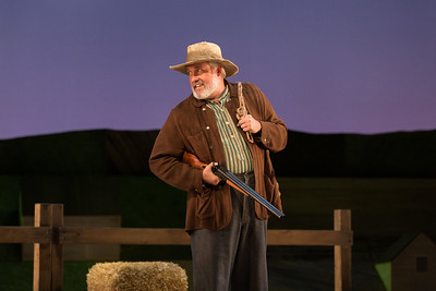 "William Burden as Andrew Carnes in The Glimmerglass Festival's 2017 production of Rodgers and Hammerstein's ""Oklahoma!"" Photo: Karli Cadel/The Glimmerglass Festival"