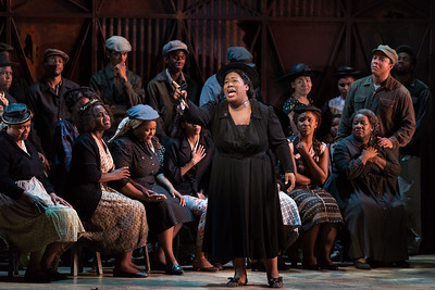 "Simone Z. Paulwell as Serena  in The Glimmerglass Festival's 2017 production of The Gershwins' ""Porgy and Bess."" Photo: Karli Cadel/The Glimmerglass Festival"
