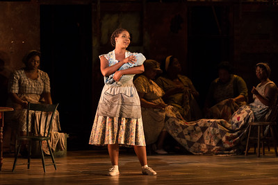 "Meroë Khalia Adeeb as Clara in The Glimmerglass Festival's 2017 production of The Gershwins' ""Porgy and Bess."" Photo: Karli Cadel/The Glimmerglass Festival"