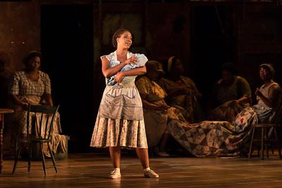 "Meroë Khalia Adeeb as Clara in The Glimmerglass Festival's 2017 production of The Gershwins' ""Porgy and Bess."" Photo: Karli Cadel/The Glimmerglass Festival"