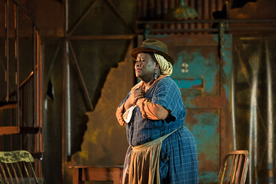 "Judith Skinner as Maria in The Glimmerglass Festival's 2017 production of The Gershwins' ""Porgy and Bess."" Photo: Karli Cadel/The Glimmerglass Festival"