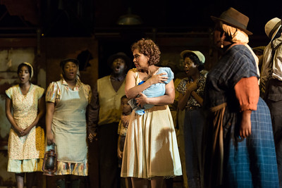 "Talise Trevigne as Bess in The Glimmerglass Festival's 2017 production of The Gershwins' ""Porgy and Bess."" Photo: Karli Cadel/The Glimmerglass Festival"