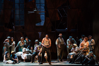 "Norman Garrett as Crown in The Glimmerglass Festival's 2017 production of The Gershwins' ""Porgy and Bess."" Photo: Karli Cadel/The Glimmerglass Festival"