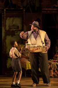 """L to R: Piers Shannon as Scipio and Edward Graves as Peter in the 2017 Glimmerglass Festival production of The Gershwins' """"Porgy and Bess."""" Photo: Karli Cadel/The Glimmerglass Festival"""