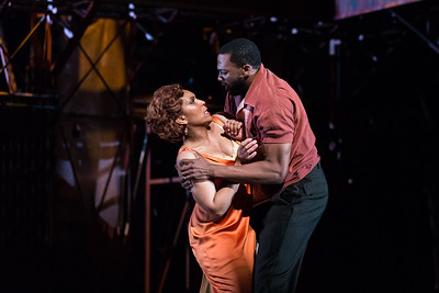 "Talise Trevigne as Bess and Norman Garrett as Crown in The Glimmerglass Festival's 2017 production of The Gershwins' ""Porgy and Bess."" Photo: Karli Cadel/The Glimmerglass Festival"