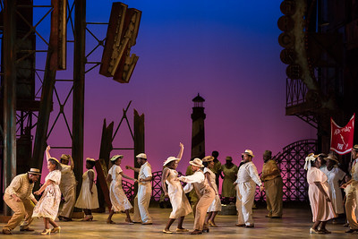 """The ensemble in The Glimmerglass Festival's 2017 production of The Gershwins' """"Porgy and Bess."""" Photo: Karli Cadel/The Glimmerglass Festival"""