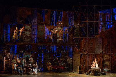 "The Glimmerglass Festival's 2017 production of The Gershwins' ""Porgy and Bess."" Photo: Karli Cadel/The Glimmerglass Festival"