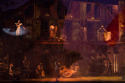 "The 2017 Glimmerglass Festival production of The Gershwins' ""Porgy and Bess."" Photo: Karli Cadel/The Glimmerglass Festival"