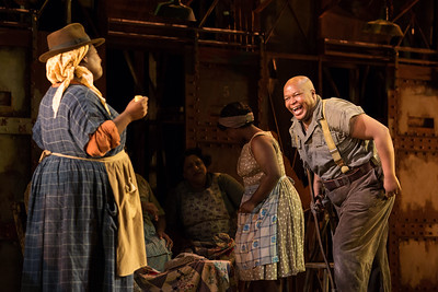 "Musa Ngqungwana as Porgy in The Glimmerglass Festival's 2017 production of The Gershwins' ""Porgy and Bess."" Photo: Karli Cadel/The Glimmerglass Festival"