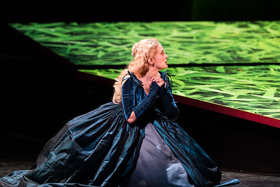 "Katrina Galka as Atalanta in The Glimmerglass Festival's 2017 production of Handel's ""Xerxes."" Photo: Karli Cadel/The Glimmerglass Festival"