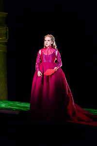 "Emily Pogorelc as Romilda inThe Glimmerglass Festival's 2017 production of Handel's ""Xerxes."" Photo: Karli Cadel/The Glimmerglass Festival"