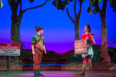 "Henry Wager as Robin Hood and Kayleigh Decker as Scarlet in The Glimmerglass Festival's world-premiere youth opera, ""Robin Hood.""  Photo: Karli Cadel/The Glimmerglass Festival"