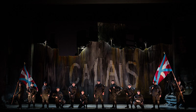 "The Glimmerglass Festival's 2017 production of the American premiere of Donizetti's ""The Siege of Calais."" Photo: Carrington Spires/The Glimmerglass Festival"