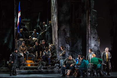 "The Glimmerglass Festival's 2017 production of Donizetti's ""The Siege of Calais."" Photo: Karli Cadel/The Glimmerglass Festival"