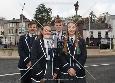 Jozef Rigo, Esther Taylor, Nathan Graham and Julie Brown were representing Devenish College.  Picture: Ronan McGrade