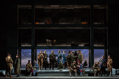 "The Glimmerglass Festival's 2018 production of Kevin Puts and Mark Campbell's ""Silent Night."" Photo: Karli Cadel/The Glimmerglass Festival"