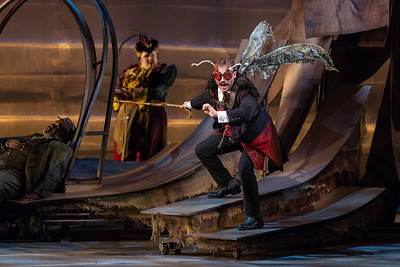 "Dylan Morrongiello as the Mosquito in The Glimmerglass Festival's 2018 production of Janáček's ""The Cunning Little Vixen."" Photo: Karli Cadel/The Glimmerglass Festival"