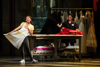 "Vanessa Becerra as Maria and Amanda Castro as Anita The Glimmerglass Festival's 2018 production of Bernstein's ""West Side Story."" Photo: Karli Cadel/The Glimmerglass Festival"