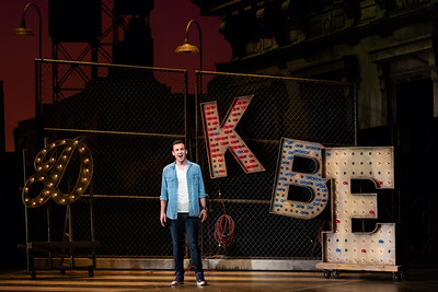 "Joseph Leppek as Tony in The Glimmerglass Festival's 2018 production of Bernstein's ""West Side Story."" Photo: Karli Cadel/The Glimmerglass Festival"