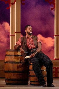"Justin Hopkins as Joe in The Glimmerglass Festival's 2019 production of ""Show Boat."" Photo Credit: Karli Cadel/The Glimmerglass Festival"
