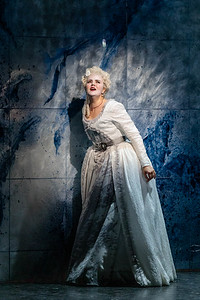 Yelena Dyachek as Marie Antoinette in The Glimmerglass Festival's 2019 production of The Ghosts of Versailles. Photo: Karli Cadel/The Glimmerglass Festival