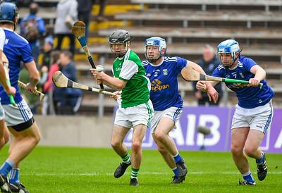 Caolan Duffy lines up a shot.  Photo: Ronan McGrade