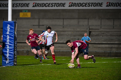 James Ferguson scored Enniskillen's first try.  Picture: Ronan McGrade