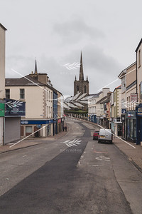 St Macartin's Cathedral, Enniskillen on Easter Sunday morning.  Picture: Ronan McGrade