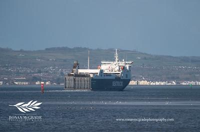Belfast docks.  Picture: Ronan McGrade/Pacemaker Press