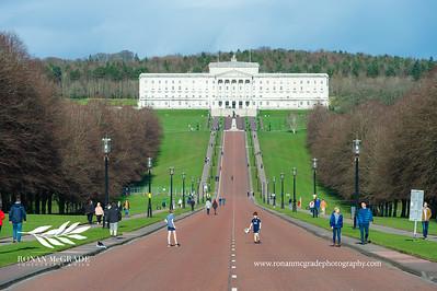 Parliament Buildings at Stormont, Belfast.  Picture: Ronan McGrade